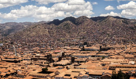 Cusco Peru viewpoint Stock Images