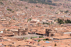 Cusco Plaza de Armas Royalty Free Stock Photos