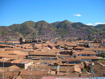 Cusco Rooftops Stock Images