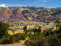 Cusco and Sacsayhuaman Royalty Free Stock Photos