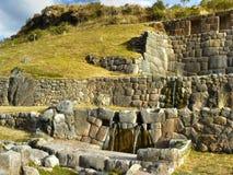 cusco tambomachay的秘鲁 库存图片