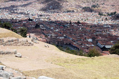 Cusco view Stock Photography