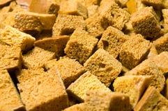 Cuscurrones del pan blanco Foto de archivo