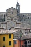 Cusercoli, Italiaanse Oude Stad Stock Afbeelding