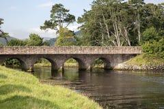 Cushendun Bridge over River Glendun, County Antrim Stock Photos