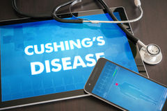 Cushing's disease (endocrine disease) diagnosis medical concept Royalty Free Stock Photography