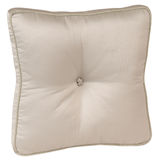 Cushion. Isolated pillow over white background Stock Photo