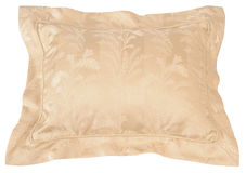 Cushion. Isolated pillow over white background Royalty Free Stock Photos