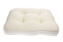 Cushion. Chair Cushion on White Background royalty free stock photos