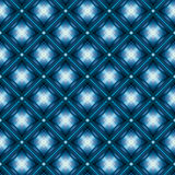 Cushion blue effect seamless pattern Royalty Free Stock Photo