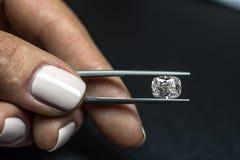 Diamond Cushion Crushed Ice royalty free stock images