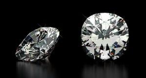 Cushion Cut Diamond Royalty Free Stock Image