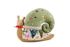 Cushion in form of snail Stock Image