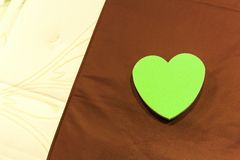 Cushion heart shape. Royalty Free Stock Photos