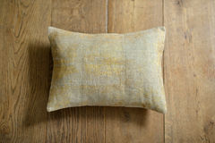 Cushion. Individual textured cushion on a wooden background stock photos
