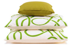 Cushion. Isolated Stock Image