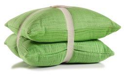Cushion. Isolated. Soft cushion isolated over white stock images