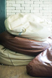 Cushion seat in the living room Royalty Free Stock Photography