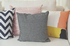 Cushion on sofa Royalty Free Stock Images