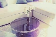 Cushion. On sofa at home royalty free stock photo