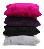 Cushions. Isolated Stock Images
