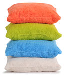 Cushions. Isolated Royalty Free Stock Image