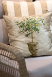 Cushions and pillows Royalty Free Stock Photos