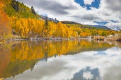 Cushman Lake, Colorado Stock Photos