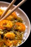 Cusine internacional - curry Foto de archivo libre de regalías