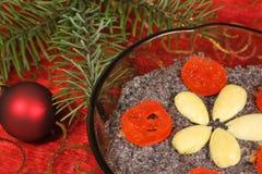 Cusine polacco - Natale immagini stock