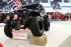 Cusom Jeep Stock Image
