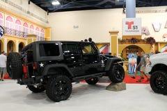 Cusomized jeep royaltyfria bilder