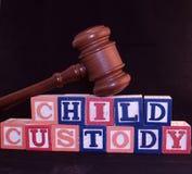 Custódia de criança Fotografia de Stock