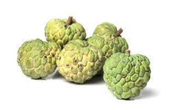 Custard apple isolate on white background Stock Images