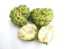 Custard Apple-Isolated Stock Images