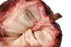 Custard Apple Macro  Stock Image