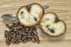 Custard Apple with seeds Royalty Free Stock Image