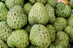 Custard apple, Sugar apples or Annona squamosa Linn Stock Image