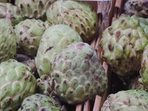 Custard apples Stock Photos