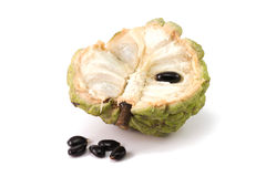 Custard apples or Sugar apples or Annona squamosa Linn Royalty Free Stock Photo