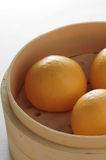 Custard bun Stock Photo