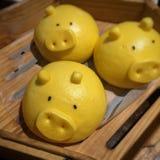 Custard Buns Stock Image
