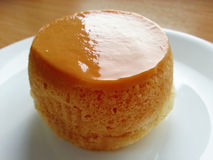 Custard cake Stock Image