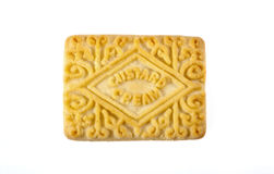 Custard Cream Biscuit Stock Photos