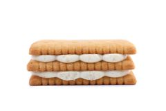 Free Custard Cream Biscuits. Royalty Free Stock Images - 33182679