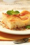 Custard cream sponge cake Royalty Free Stock Photos