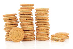 Custard Creams Stock Photography