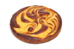 Custard pie Royalty Free Stock Images