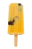 Custard and Prune Popsicle Royalty Free Stock Images