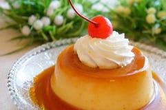 Custard Pudding (Flan) Royalty Free Stock Image